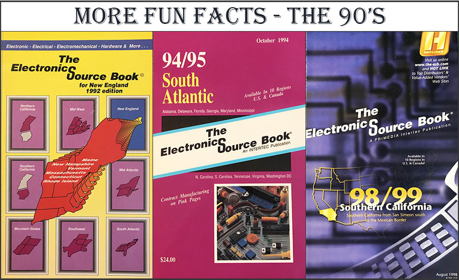SourceESB 35th anniversary - fun facts of the 90's